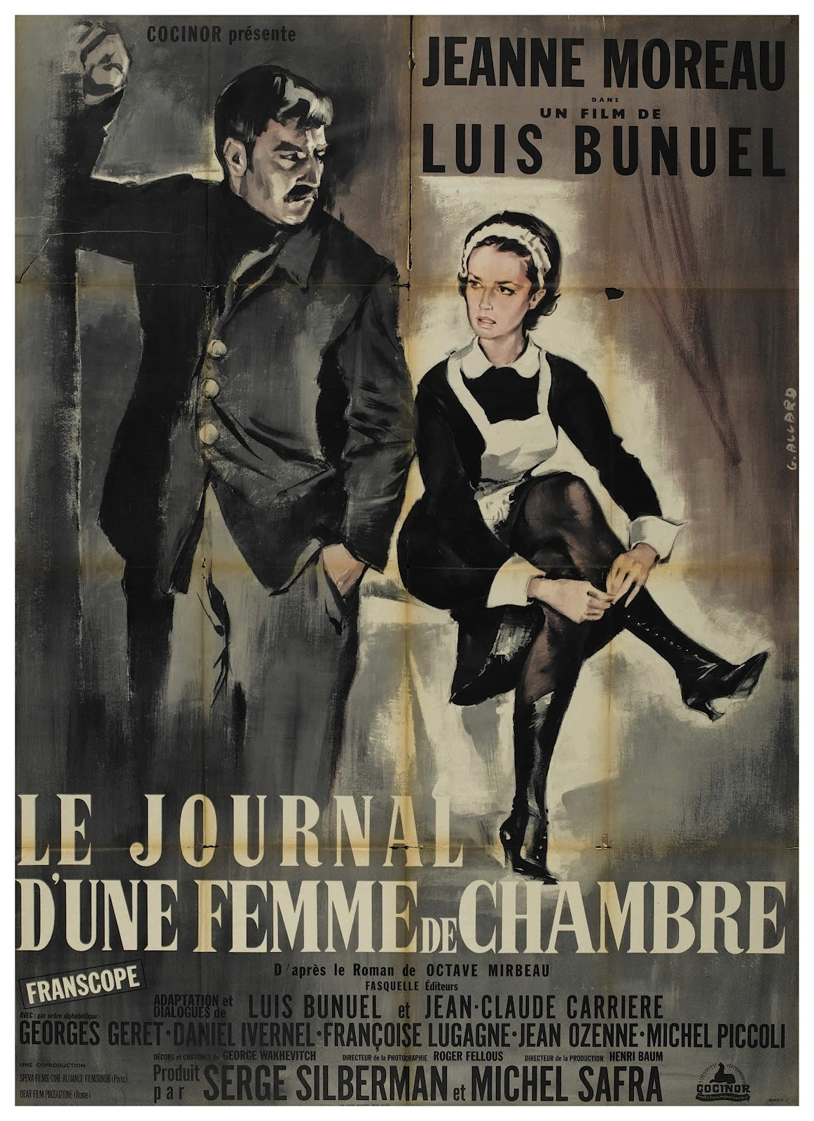 Poster of Diary of a Chambermaid