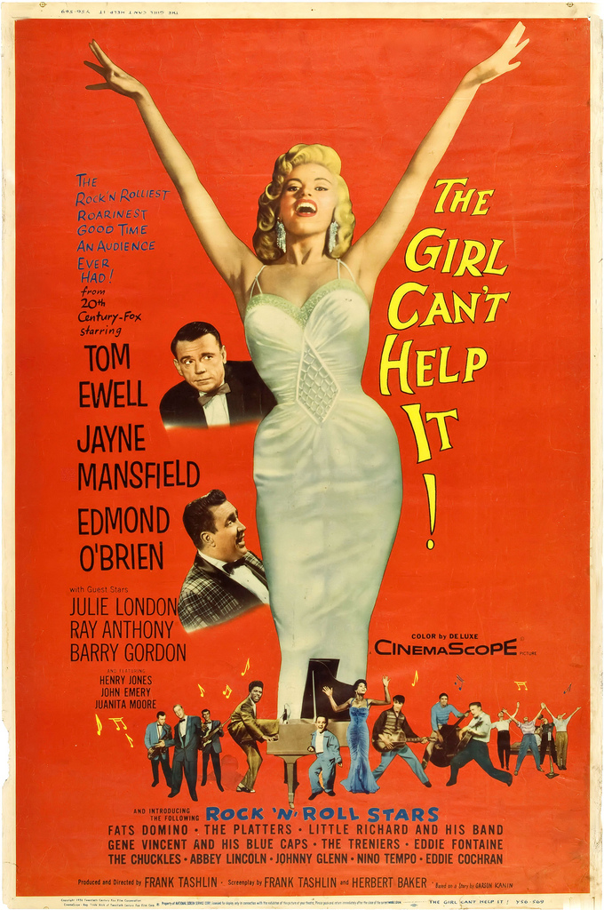 Poster of The Girl Can't Help It