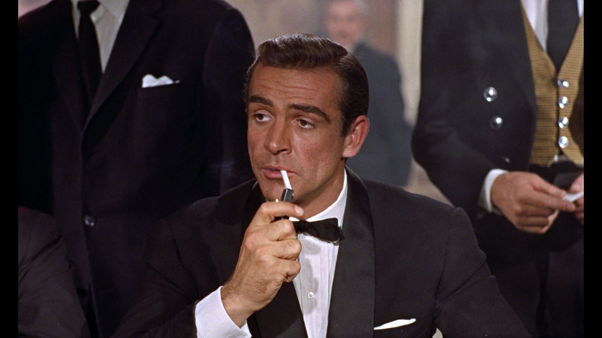Sean Connery playing James Bond