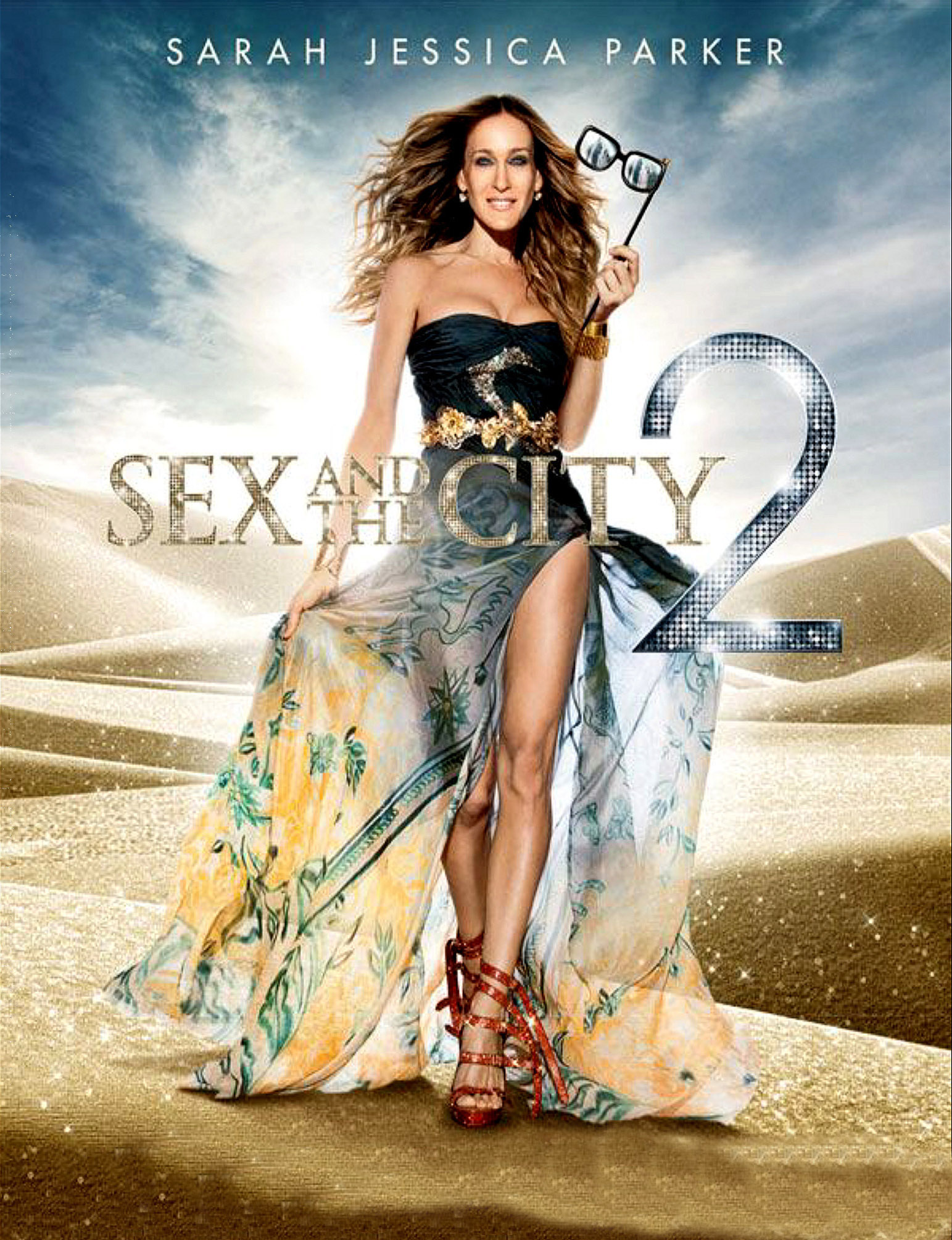 Poster of Sex and the city 2 Movie
