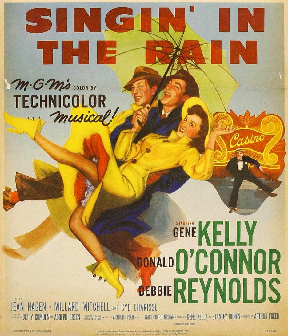 Poster of Singin In The Rain