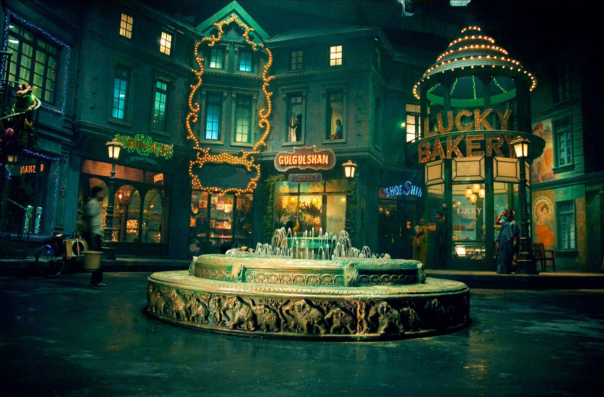 A set from Saawariya (Courtesy Sony Pictures and SLB Films)