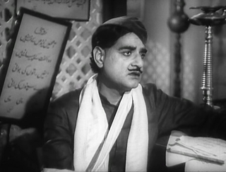 K. L. Saigal in Shahjehan