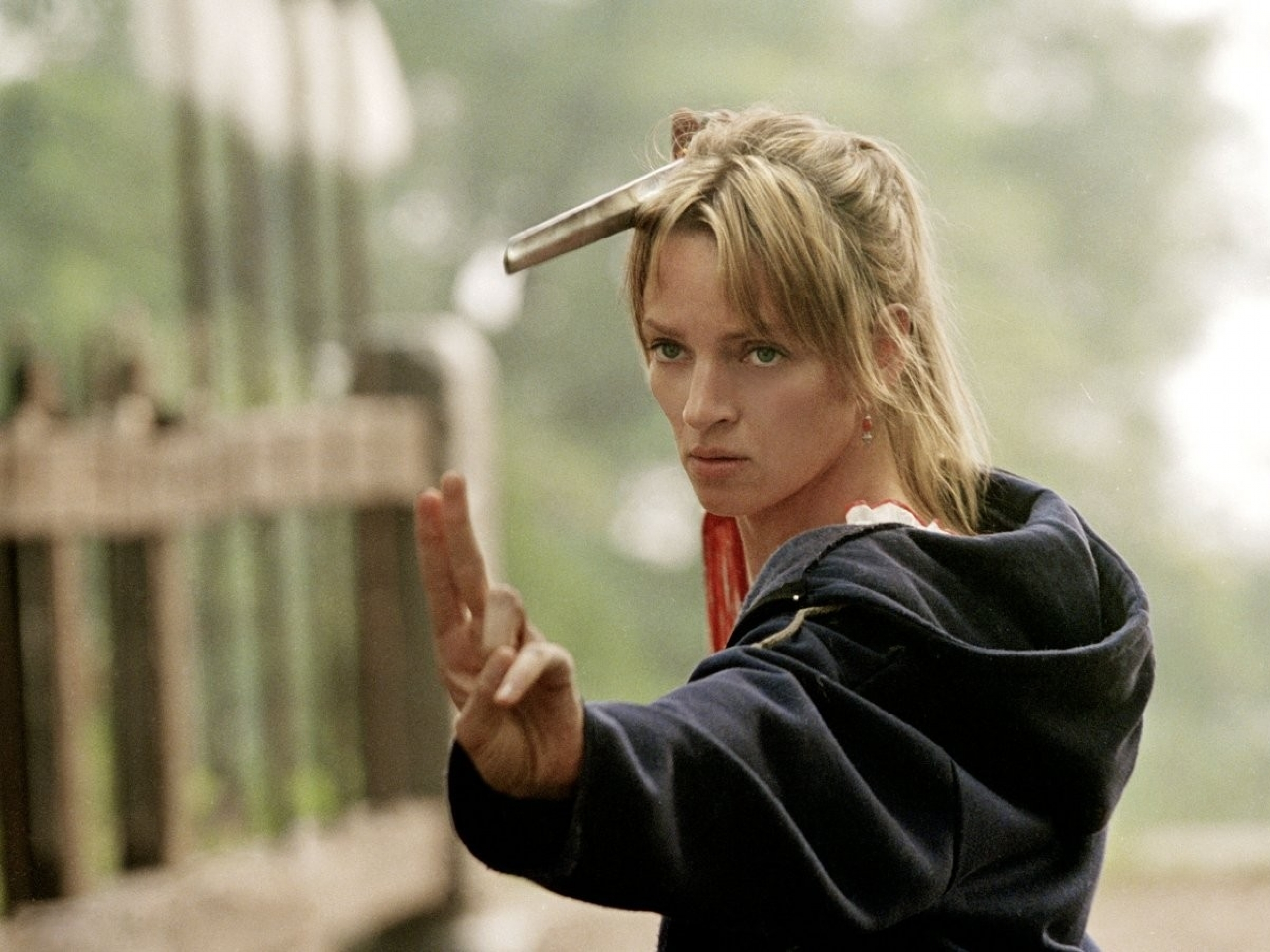 Uma Thurman as Beatrix Kiddo from Kill Bill 2